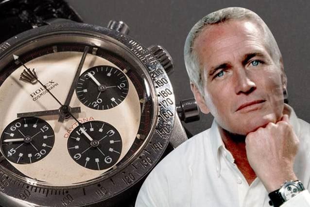 Paul Newman con il suo Rolex Daytona